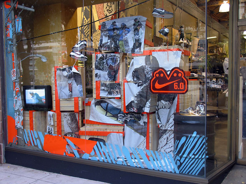 Nike 6.0 Retail Window