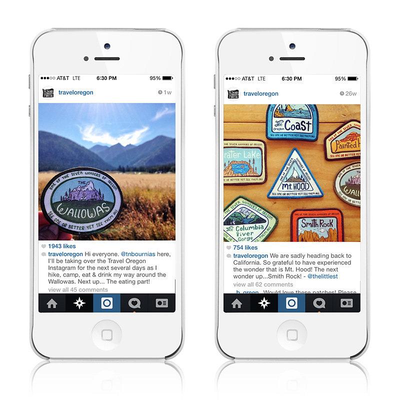 Badges & Social Media