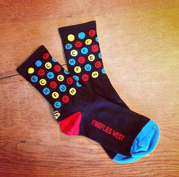 Fuck Cancer Socks